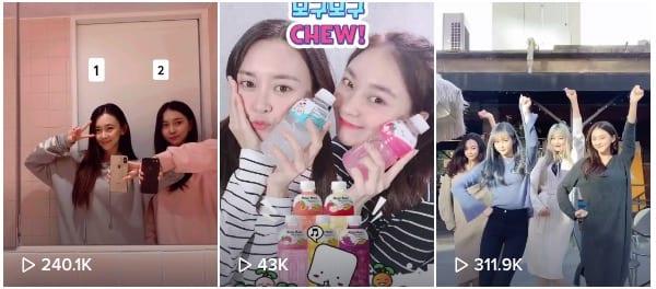 Korean TikTok Influencers