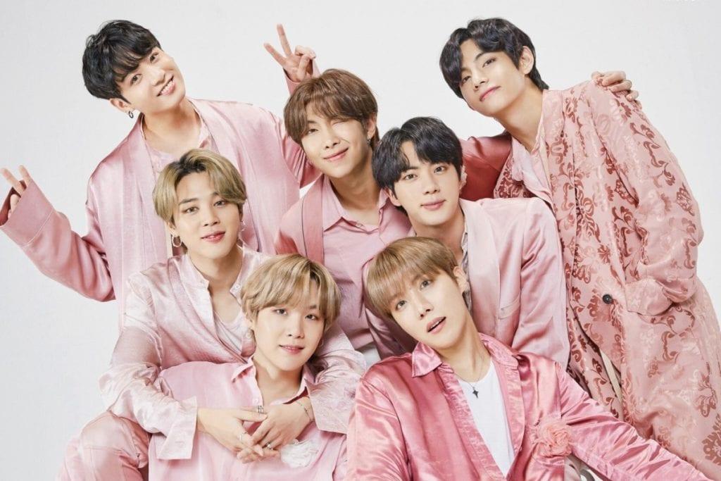 Kpop Boy Group BTS