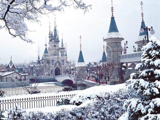Winter Festival at Korean Theme Parks
