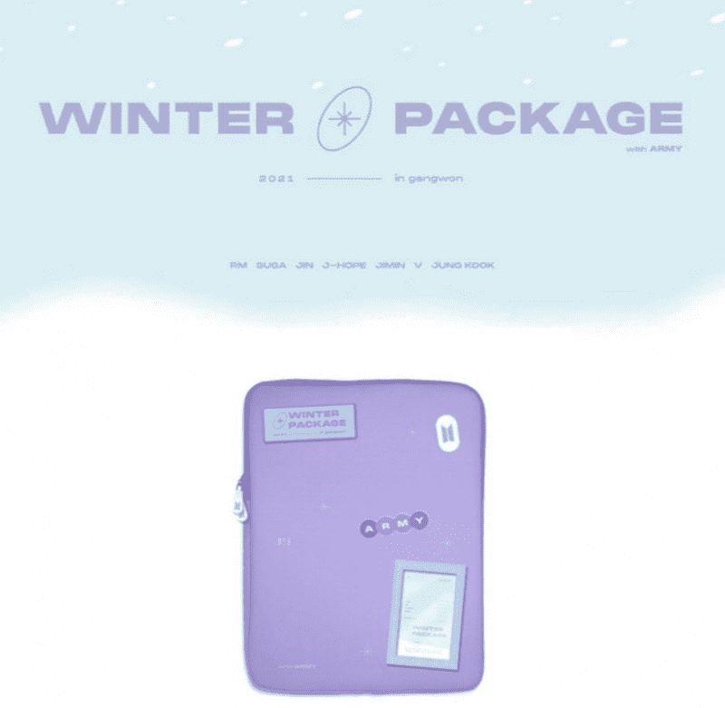 BTS Winter Package