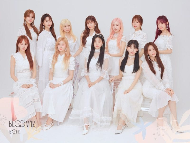 Kpop Girl Group IZ*ONE