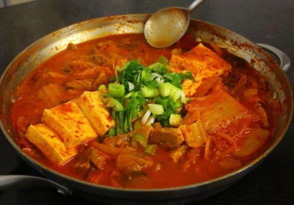 Kimchi Jjigae recipes