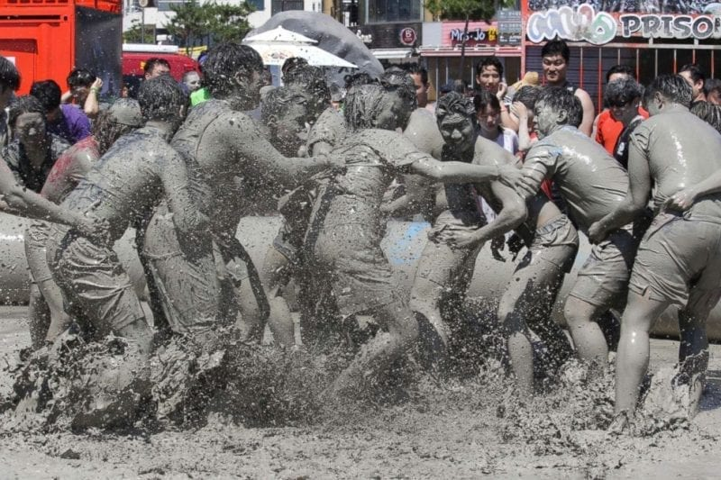Boryeong Mud Festival in Korea