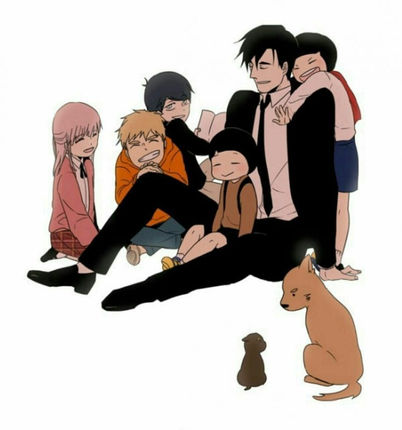 The Children Mr. Kwon
