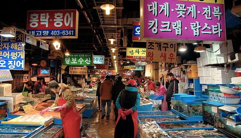 Best Open Street Markets in South Korea