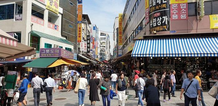 Open Street Markets in South Korea