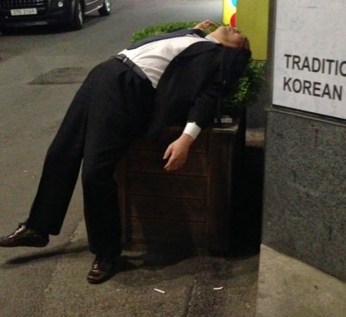 Koreans Drunk