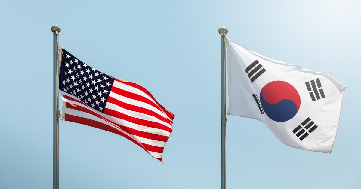 Traveling to Korea from the United States